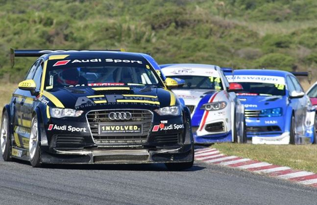All Power Audi's Tschops Sipuka turns the weekend around