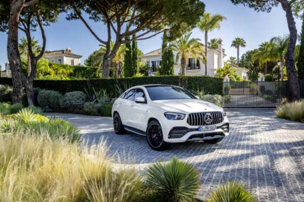 The new Mercedes-AMG GLE 53 4MATIC+ Coupé - Dynamic and athletic