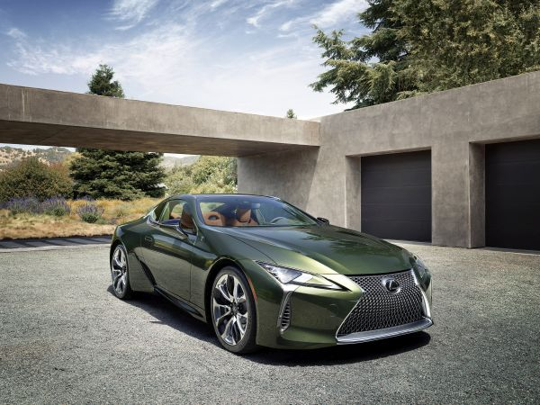 2020 Lexus LC 500 Limited Edition pairs classic colour palette with cutting edge design