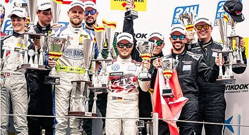 24h Barcelona- Third place secures overall win