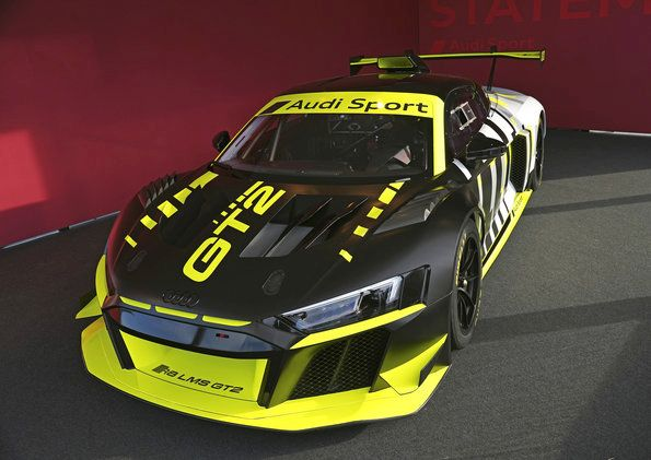Next appearance of the Audi R8 LMS GT2