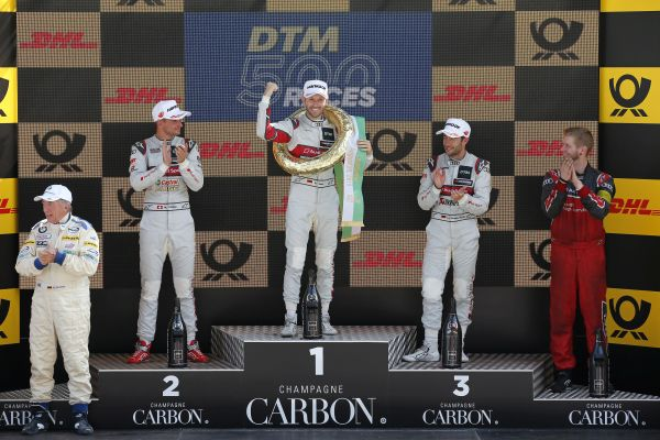 DTM500: Rast and Müller look set for title showdown