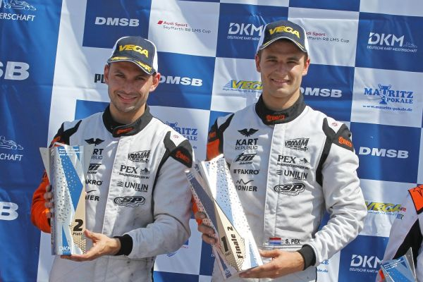 Pex brothers finish 1 and 2 for Pex Racing at the DKM in Genk