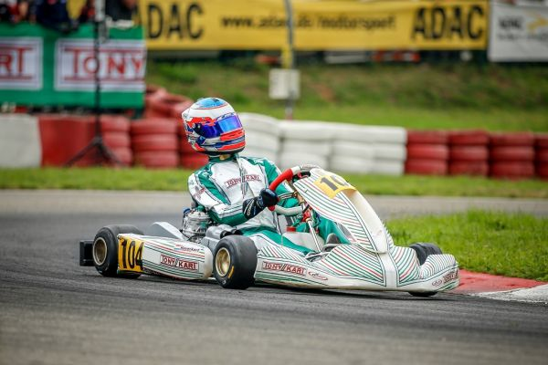 Karting talent Kas Haverkort changes to Tony Kart and wins ADAC Kart Masters