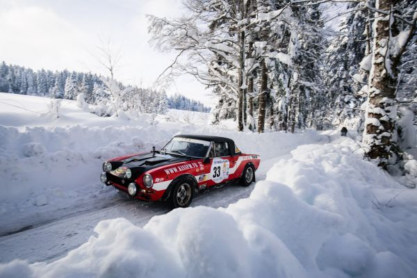 66th Neige & Glace Rally  - Back to basics