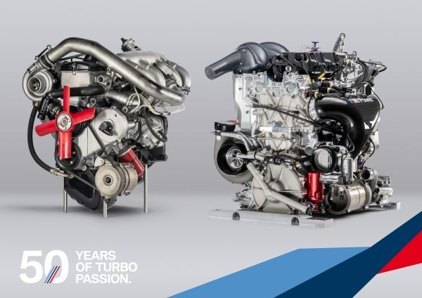 BMW is celebrating '50 years of Turbo Power in motorsport' in 2019.