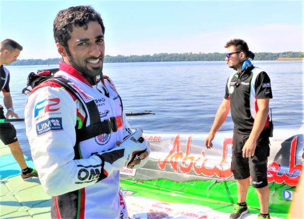 Team Abu Dhabi's Al Qemzi sets to hot pace in Italy