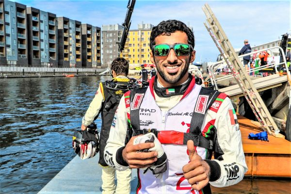 Team Abu Dhabi's Al Qemzi completes pole position hat-trick in Italy