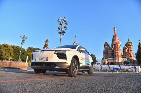 AIWAYS U5 prototypes cross Kazakhstan and enters Russia on epic EV drive to Western Europe