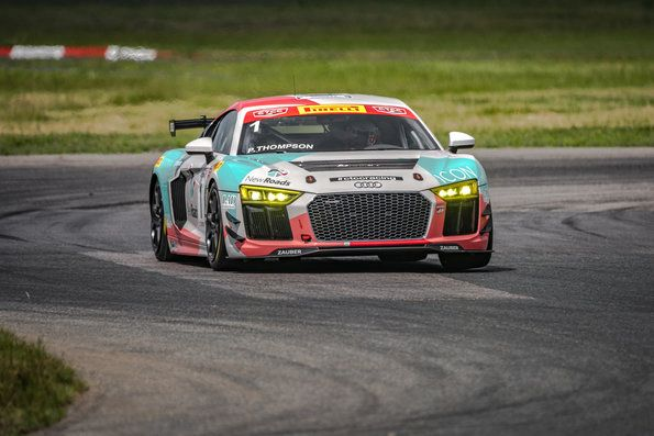 Parker Thompson in top spot of Canadian Touring Car Championship