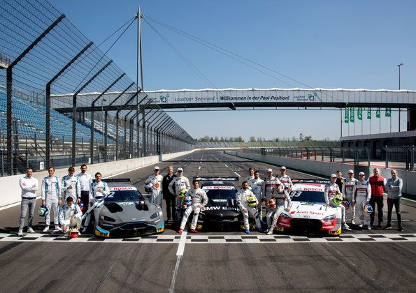 500th Audi DTM race and manufacturers' title within reach at Lausitzring