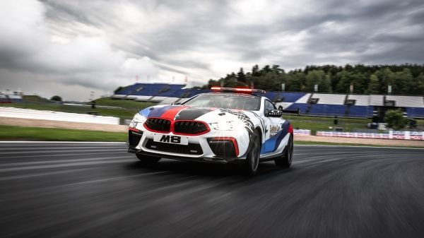 The new BMW M8 MotoGP™ Safety Car