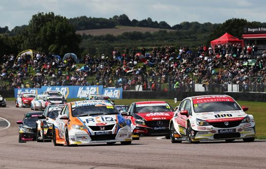 Thruxton hosts spectacular second BTCC visit as Tordoff, Cook and Cammish triumph
