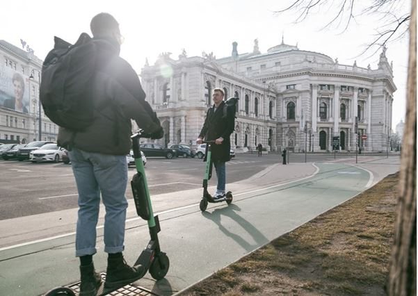 "E-scooters: ""Quicker than walking"""