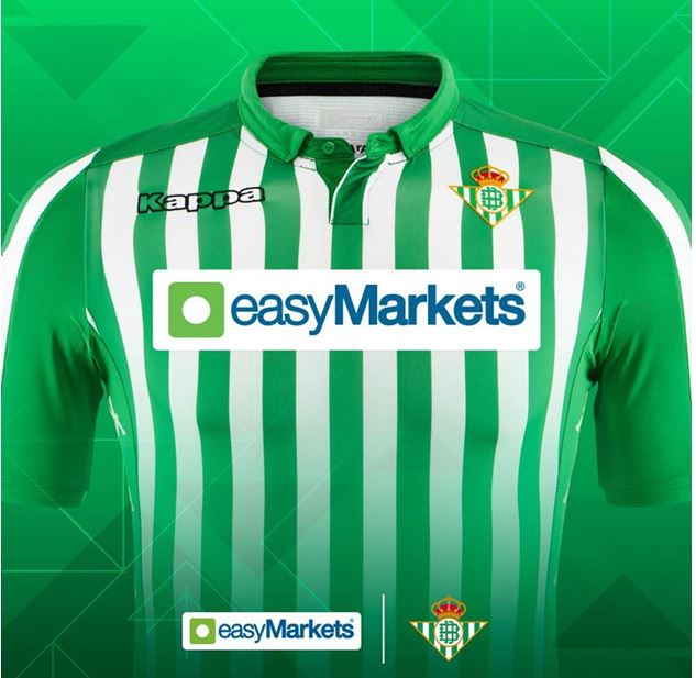 Sponsorship Deal Between easyMarkets and Real Betis – A Step Towards Growth