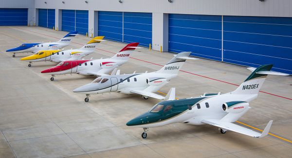 The HondaJet is the Most Delivered Aircraft in its Class for the First Half of 2019