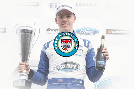 Louis Foster chosen as BRDC Rising Star