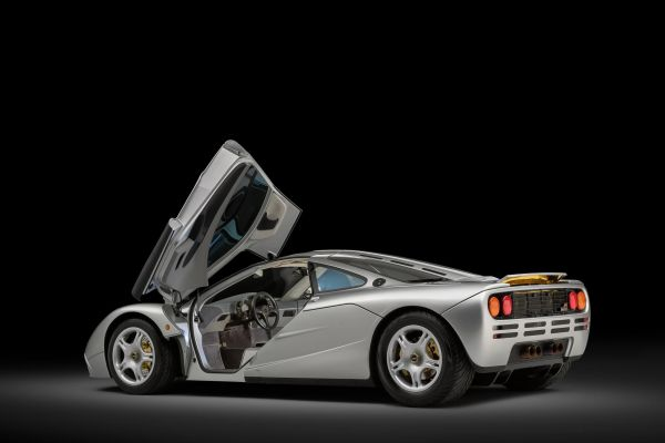 Freshly restored McLaren F1 #63 to premiere at Hampton Court Concours D'Elegance