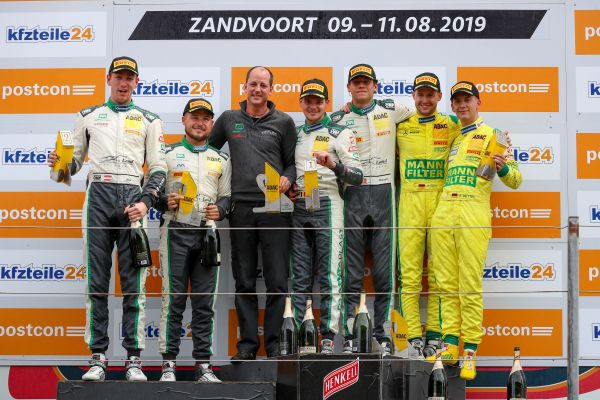 Audi one-two and first ADAC GT Masters podium for Vettel at Zandvoort