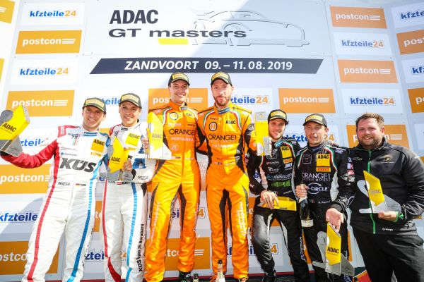 Lamborghini recorded its first ADAC GT Masters victory of the season
