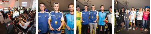 Successful Live Event premiere of the ADAC GT Masters Esports Championship