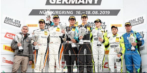 Nürburgring ADAC GT4 Germany race 1 classification