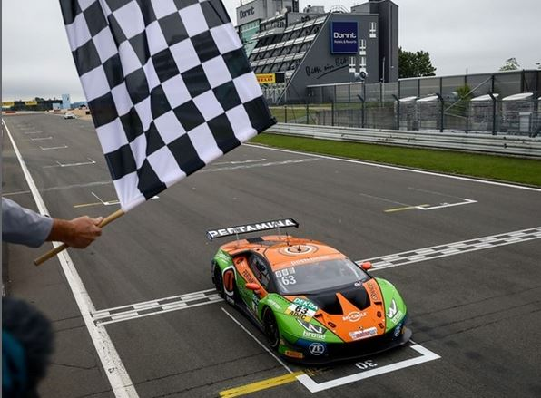 Lamborghini continues winning streak in ADAC GT Masters with Nürburgring double