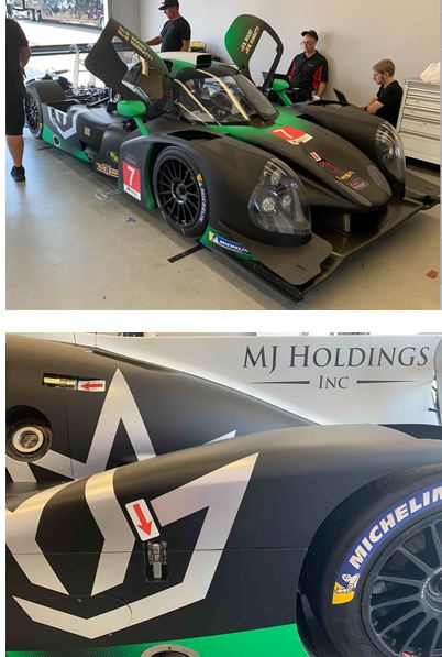 Blake Mount Sports new livery going into VIR race weekend