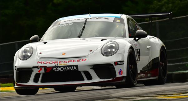 Moorespeed Earns Double Podium at VIR on Sunday in IMSA Porsche GT3 Cup Challenge USA