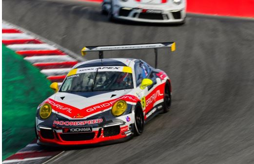 Moorespeed Completes IMSA Porsche GT3 Cup Challenge USA Weekend With Two More Podium Finishes