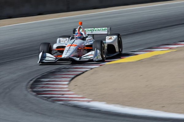 IndyCar Series Laguna Seca race classification - Herta takes victory