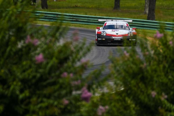 IMSA WeatherTech VIR Practice 2 classification