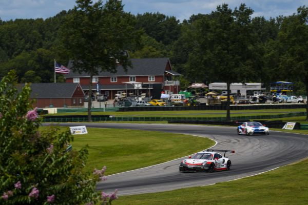 Michelin GT Challenge at VIR Qualifying classification and fastest drivers