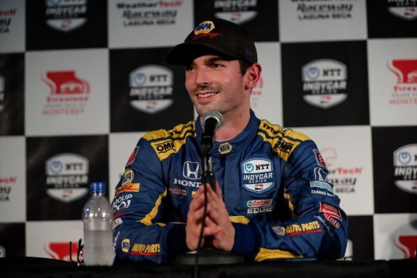 Alexander Rossi - A Gamble at the Indycar Finale