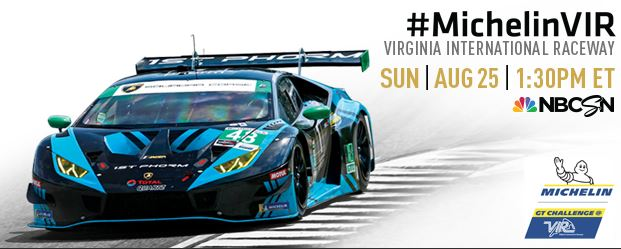 Tune in - IMSA Michelin GT Challenge at VIR