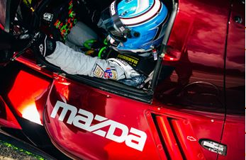 Mazda Takes Third Straight Win with AERO™ Sustainable Paint Technology