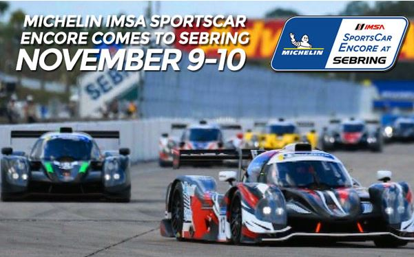 Michelin SportsCar Encore Returns to Sebring November 9-10