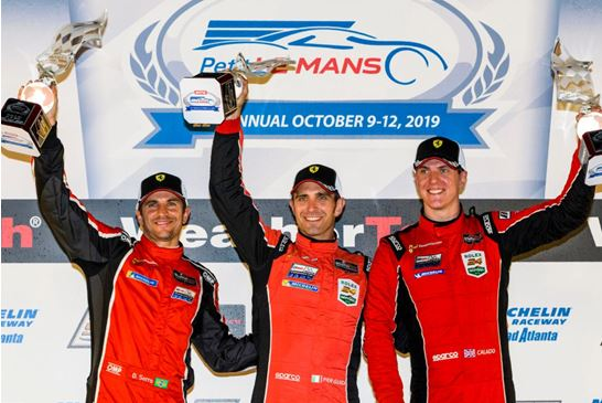 Risi Competizione wins GTLM class at Petit Le Mans
