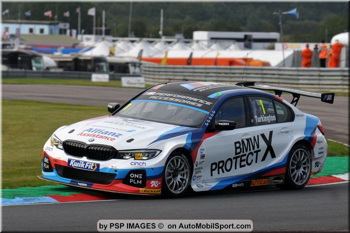 BMW BTCC trio head north of the border for Knockhill's highland fling