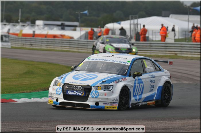 Front running pace for Trade Price Cars Racing in BTCC season finale