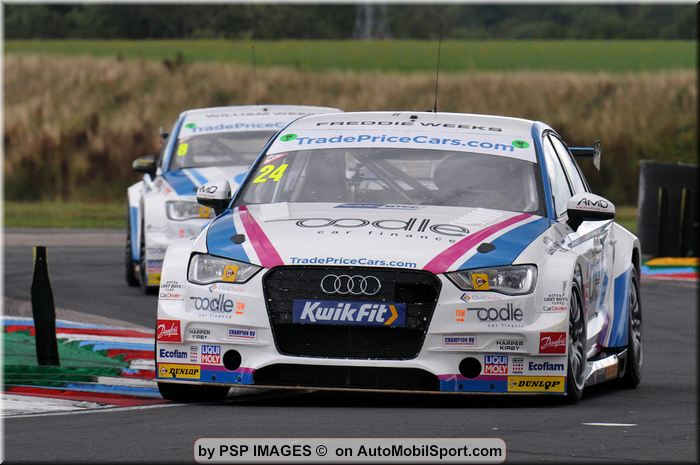 Knockhill BTCC race 3 classification - Victory for Jake Hill