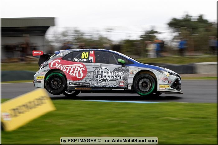 Tom Ingram climbs BTCC championship table on hard-fought Knockhill weekend