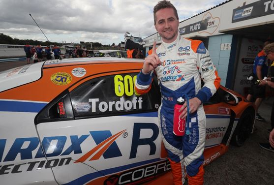 Sam Tordoff takes Thruxton BTCC pole double