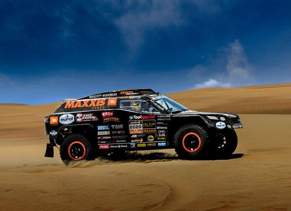 Tim And Tom Coronel Unveil The Beast 3 0 For 2020 Dakar