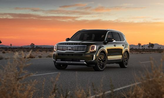 Kia Telluride is Car and Driver 10Best for 2019