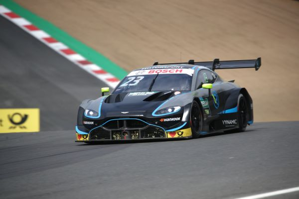 Daniel Juncadella in the points as Aston Martin Vantage DTM makes its home debut