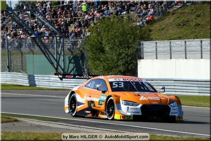 Nürburgring DTM qualifying 2 classification- Jamie Green on pole