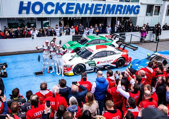 Crowning event for Audi Champions - DTM finale with F1 World Champions and three Japanese brands