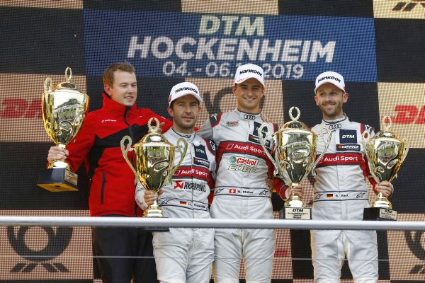 Mighty Nico Müller clinches finale DTM win