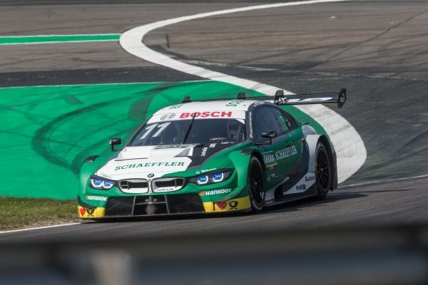 Marco Wittmann and Philipp Eng reach the top ten at the 500th race in the history of the DTM.